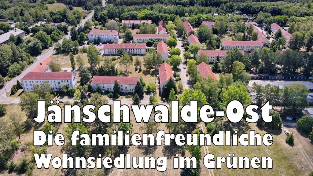 Jänschwalde-Ost die familienfreundliche Wohnsiedlung im Grünen
